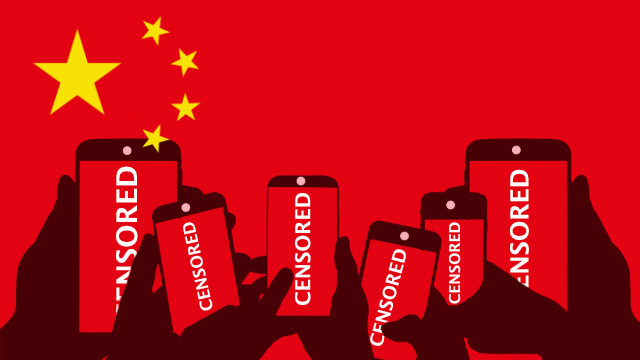 Censura del cellulare in Cina