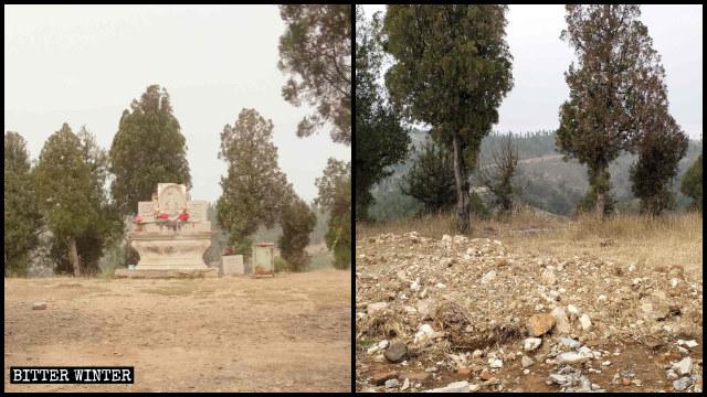 L'altare sul Monte Carmelo è stato distrutto alla fine di settembre