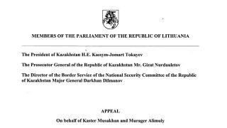 Deputati lituani ed europei al Kazakistan: non rimandate in Cina i rifugiati