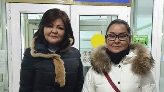 Kaisha Akan e l'avvocato Ayman Umarova