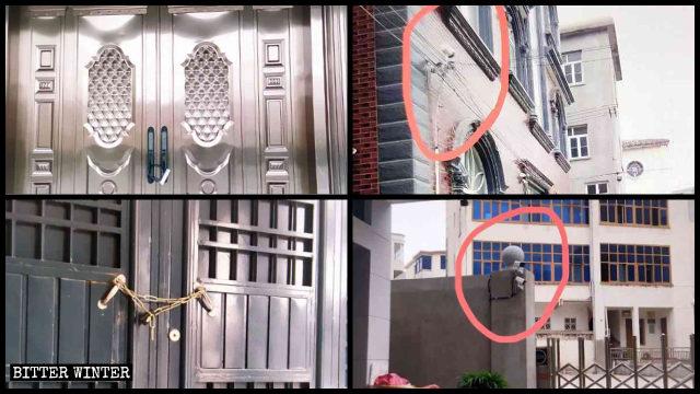 L'amministrazione cittadina di Fuqing ha chiuso numerose sale cattoliche e vi ha installato telecamere di sorveglianza