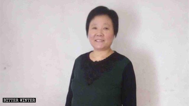 Zhang Yanling, una fedele della CDO