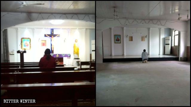 Chiesa cattolica nella contea di Boye chiusa dopo un raid della polizia