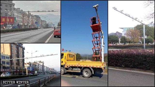 Nel 2019 sono state installate numerose telecamere di sorveglianza in tutta la provincia dello Zhejiang