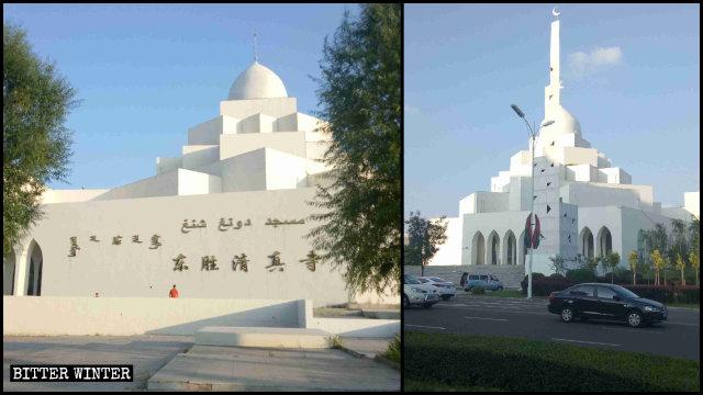 La moschea Dongsheng nella città di Ordos prima della «sinizzazione»