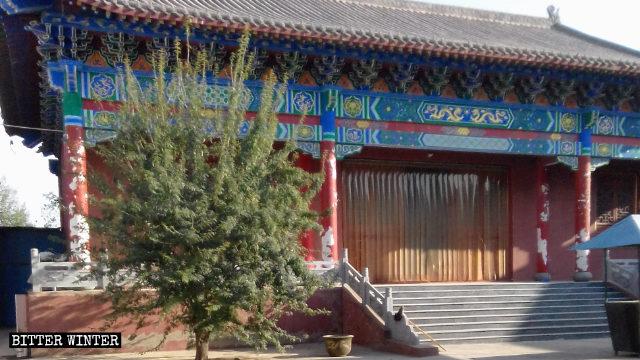 Come appariva in origine il tempio di Jingxin