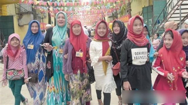 Donne e ragazze cham di Sanya
