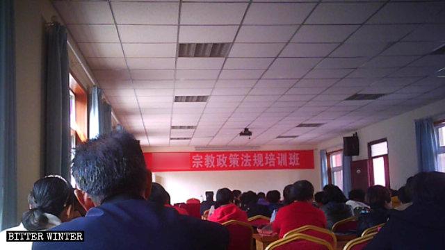 Il corso per il clero a Zhengzhou