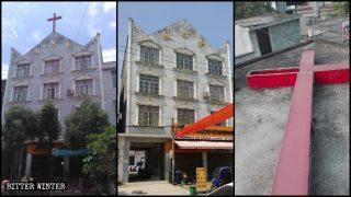 Hubei, soppresse diverse chiese protestanti