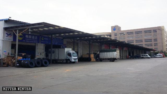 Il Mercato logistico di Lanyan è stato chiuso in previsione dei Giochi