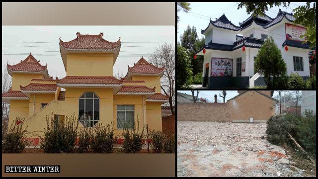 In dicembre è stata demolita una chiesa cattolica nel villaggio di Luojiazhuang, nello Shaanxi