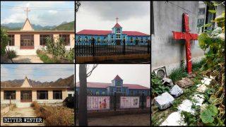 Croci rimosse dalle chiese della Cina nordorientale