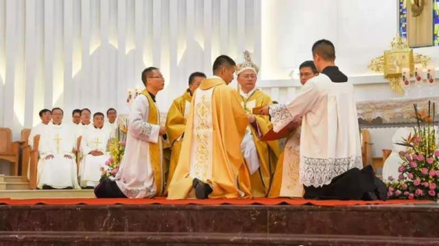 Messa nella diocesi di Mindong