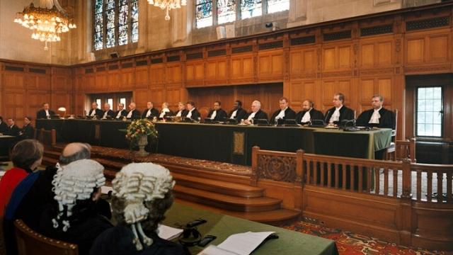 Udienza alla Corte internazionale di giustizia