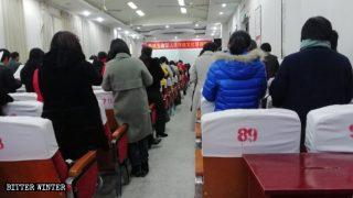 Il clero della Chiesa delle Tre Autonomie punito per non aver predicato i dogmi del PCC