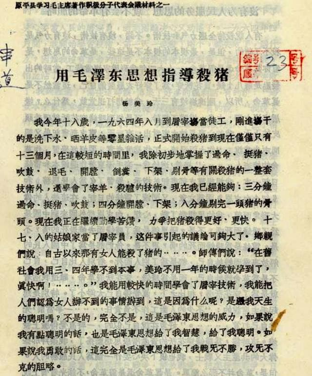 Using Mao Zedong Thought