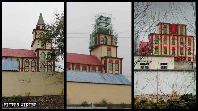 chiesa delle Tre Autonomie