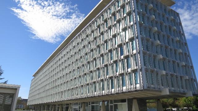 Il quartier generale dell'OMS a Ginevra
