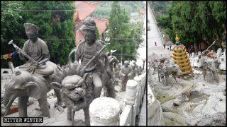 Centinaia di templi soppressi l'anno scorso nel Sichuan