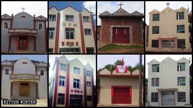 Croci sono state rimosse dalle chiese delle Tre Autonomie