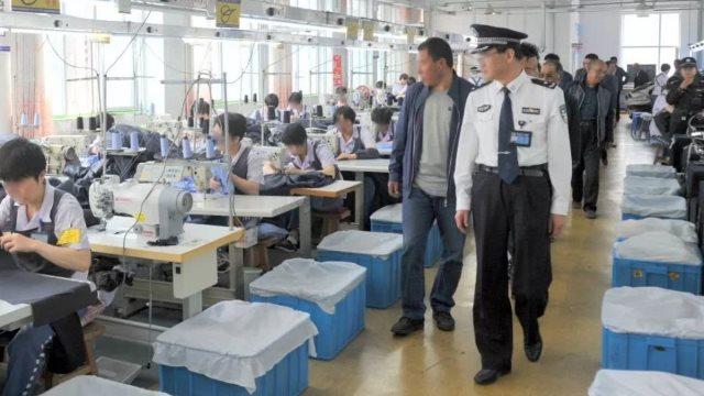 Ispezione in un laboratorio carcerario