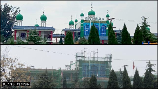 La moschea di Gongmazhuang corretta