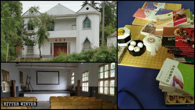 La chiesa è ora un centro di attività per anziani