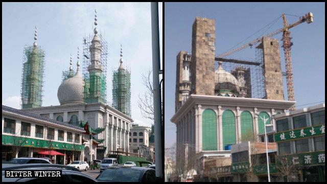 La moschea Tiejia