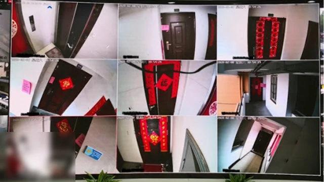 Per monitorare i residenti vengono installate telecamere
