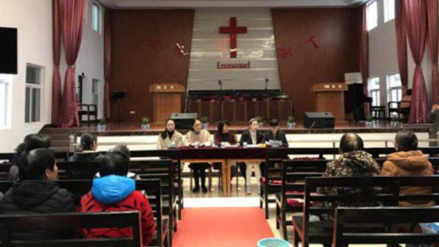 il comitato amministrativo di una chiesa delle Tre Autonomie