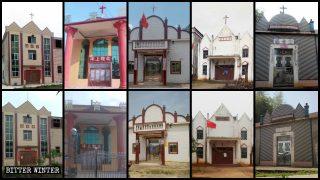 In due settimane chiuse 48 chiese amministrate dallo Stato in una sola contea