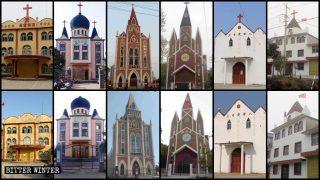 Rimosse le croci di più di 250 chiese della provincia dell'Anhui
