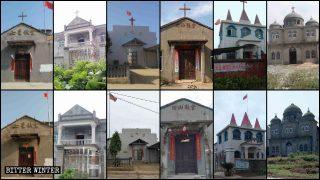 Rimosse le croci di 26 chiese delle Tre Autonomie nello Jiangxi