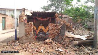 Distrutti numerosi templi della religione popolare nell'Henan e nell'Hebei