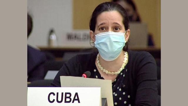 Il rappresentante di Cuba al Consiglio per i diritti umani