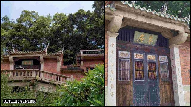 Il tempio di Caoan