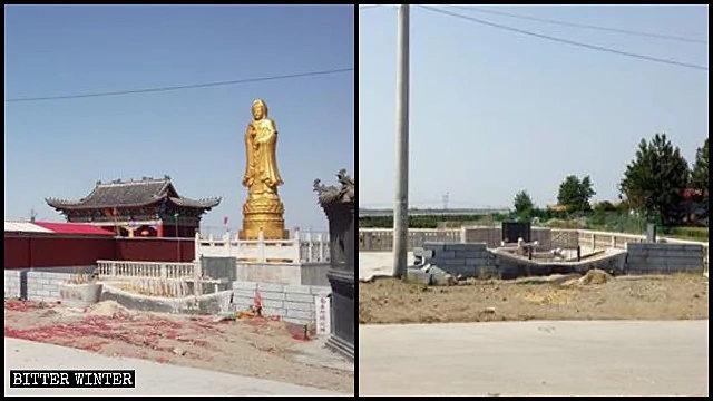 La statua della Guanyin