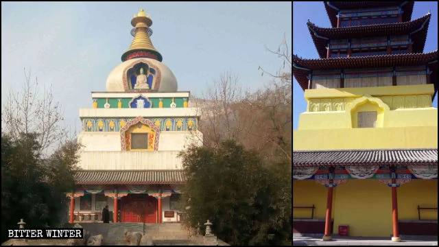 Lo stupa di Kalachakra