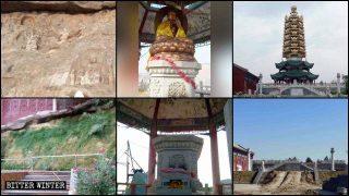 Hebei: distrutto un noto palazzo del buddhismo tibetano