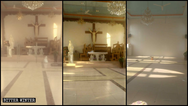 chiesa cattolica clandestina