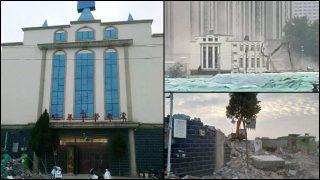Numerose chiese protestanti di Stato demolite in giugno