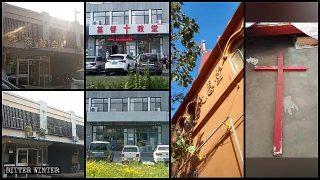 Croci rimosse dalle chiese nella provincia dello Shandong