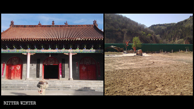 Il tempio Bailong
