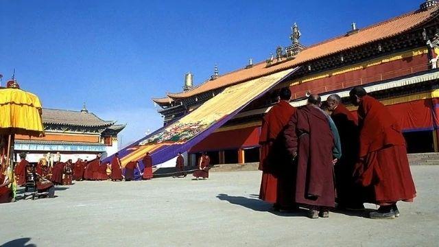 Il monastero Kirti a Ngaba