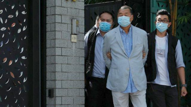 L'arresto di Jimmy Lai