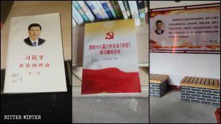 Templi degli antenati trasformati in basi propagandistiche del Partito comunista