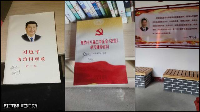copie del libro Il governo della Cina di Xi Jinping