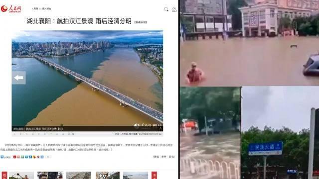 il 28 giugno si era verificato un innalzamento delle acque del fiume Yangtze