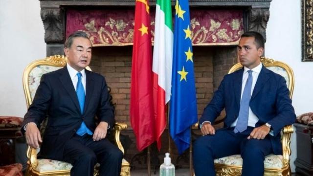incontro fra i ministri degli Esteri di Cina e Italia a Roma