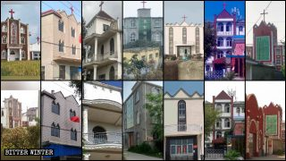 Abbattute le croci di oltre 900 chiese delle Tre Autonomie